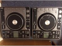 2 x Stanton C 324 cd dj decks (faulty but fixable)