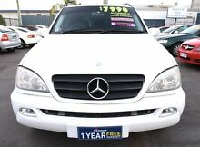 2001 Mercedes-Benz ML W163 320 (4x4) White 5 Speed Auto Tipshift Wagon Woodridge Logan Area Preview