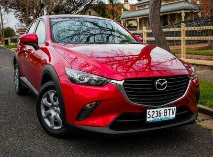 2017 Mazda CX-3 DK2W7A Neo SKYACTIV-Drive Soul Red 6 Speed Sports Automatic Wagon