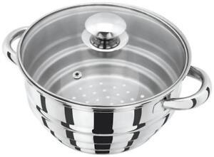 Judge Basics Stainless Multi Vegetable Steamer Insert for 16/18/20cm Pans