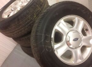 """Maxtrek Winter Tires 235/70/16 w/ Ford Escape Mags 16"""""""