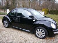 VW Beetle 2002 1.9L TDI Black