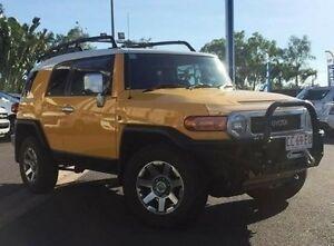 2015 Toyota FJ Cruiser GSJ15R MY14 Yellow 5 Speed Automatic Wagon Berrimah Darwin City Preview