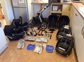 ICandy Pear Twins Full Travel System