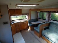 All Season 27 ft Camper With Slide Out