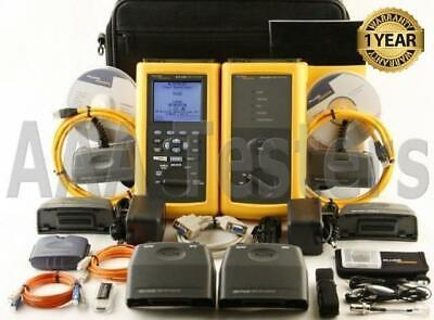 Fluke Dsp-4300 Cat6 Mm Fiber Cable Tester Fta410 Dsp4300 Dsp 4300 Dsp-fta410