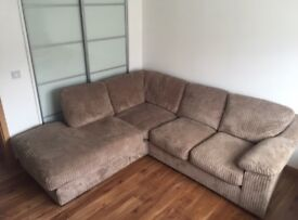 Extra Large Corner & Large 3 Seater Sofas (sold as a set) Very Good Condition