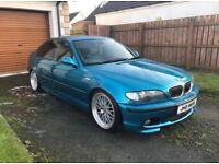 E46 BMW 330d Individual M-Sport - Atlantis Blue (320d, 530d, X5, Is200, A4, Jetta, Passat, Leon,Golf