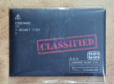 ITZY CSI : Codename Secret POP-UP STORE OFFICIAL GOODS TRADING CARD PHOTOCARD