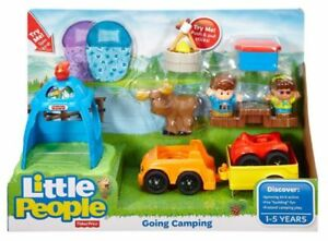 LITTLE PEOPLE-GOING CAMPING/HAY STACKIN'STABLE AT TEDDY N ME