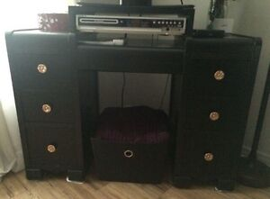 Old School Desk into TV Stand.. **Pick up before Oct 22nd** Peterborough Peterborough Area image 1
