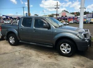 2010 Nissan Navara D40 ST (4x4) Gunmetal Grey 6 Speed Manual Dual Cab Pick-up Cardiff Lake Macquarie Area Preview