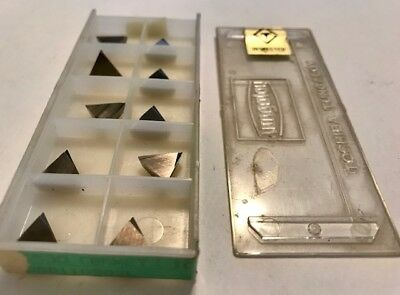 Tungaloy Carbide Inserts - Ns530 Cermet Tpgr110302l - Qty. 10 - New