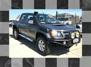 2011 Holden Colorado RC MY11 LT-R (4x4) Grey 5 Speed Manual Crew Cab Pickup Wangara Wanneroo Area Preview