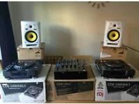 Full dj setup pioneer cdj djm krk