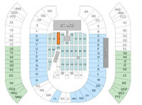 ACDC Tickets - FLOOR ROW 10 - SEC A3 - Left Center Stage