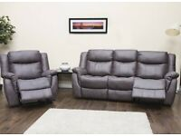 💠💠New Clearance Sale On Brand New CHICAGO RECLINER GREY 3+2 SEATER SOFA In Different Colors💠💠