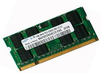 1GB Samsung 2Rx8 DDR2 SO DIMM 667 Mhz PC2-5300S Notebook Speicher  RAM Laptop