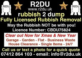 R2DU Cheap Local Rubbish Removals