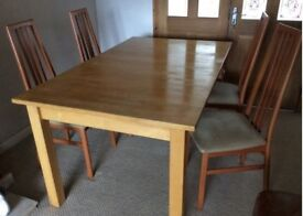 dining table solid wood seat s 8