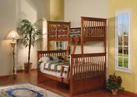 Weekend Sale - Solid Wood,Metal,Futon,Single Doulble Bunk Bed St
