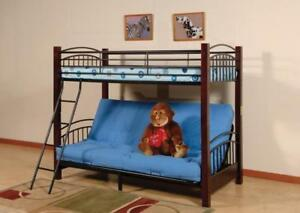 Twin-over-futon Bunk Bed Frame