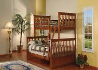 Low Price - Solid Wood , Metal , Single Double Bunk Bed St