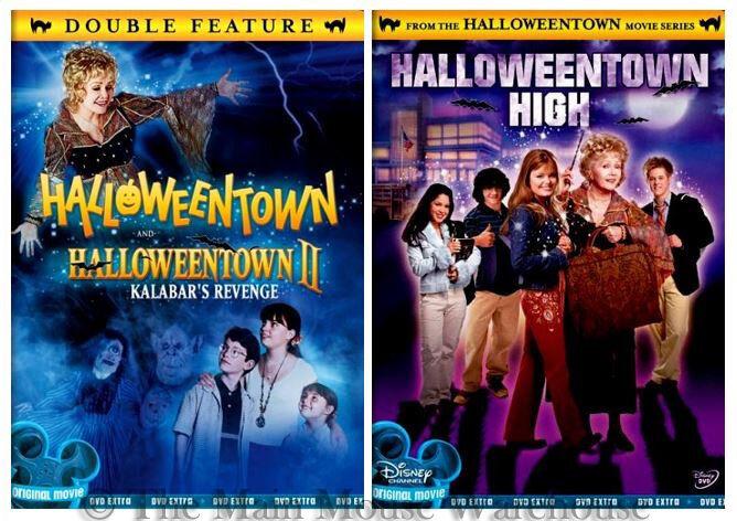 Disney Channel Halloween Movie Series Halloweentown I II III DVD ...