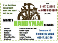 Local Handyman - No job too small
