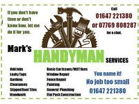 Local Handyman - No job too small