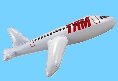 Flugzeug aufblasbar aufblasbares aufblasen 60 cm Wasserspielzeug Jet Flieger