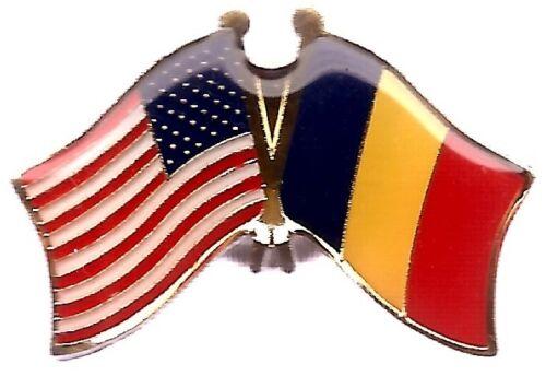LOT OF 12 Belgian Friendship Flag Lapel Pins - Belgium Flag Pin