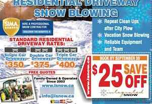 Snow Removal Snow Blowing