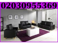 BRAND NEW-Italian Bonded Leather 3, 2 And 1 Seater Sofa Set |Delivered All Over London|