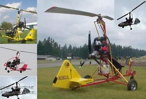 HONEYBEE-GYROCOPTER-EXPERIMENTAL-AIRCRAFT-PLANS-ON-CD