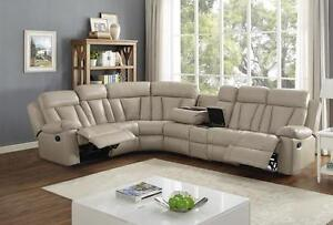 BRAND NEW SECTIONAL AND RECLINER SOFA SETS ON SALE (AD 82)