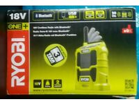 RYOBI ONE+ 18V SITE RADIO NEW*