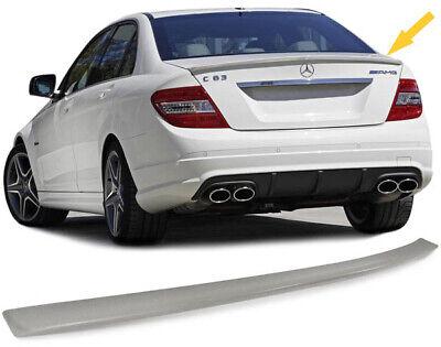 Heckspoiler Spoilerlippe C63 Sport Style für Mercedes C Klasse W204 Limousine