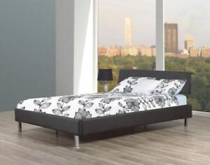 TWIN PLATFORM BED | ALSO CARRY - PLATFORM STORAGE BED, ROUND BED AND OTHER UNIQUE MODERN BEDS (ME63)