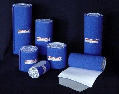 Latex Free Compression Wrap - Fabrifoam NuStim Wrap - Blue 3 Pack Latex & Neoprene Free Non-Slip Compression