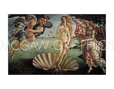 BOTTICELLI SANDRO - THE BIRTH OF VENUS - ART PRINT POSTER (461)
