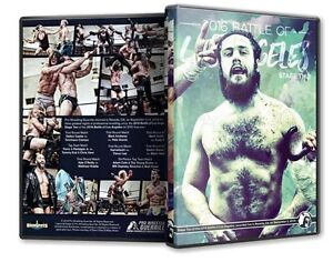 Official PWG Pro Wrestling Guerrilla Battle of Los Angeles BOLA 2016 Stage 2 DVD