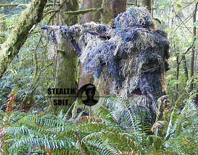 NEW Paintball Gear Camo Woodland Ghillie Gillie Suit XL