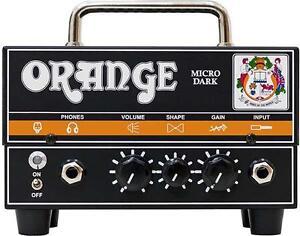 Orange Micro Dark 20-watt Mini tête d'amplificateur hybride