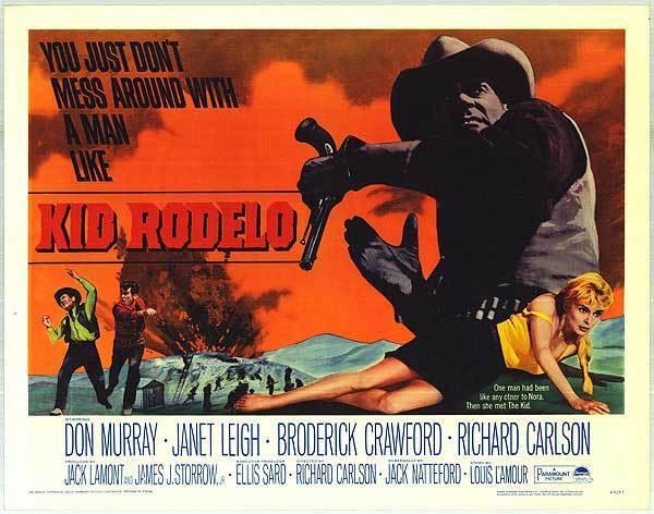 KID RODELO original 1966 22x28 movie poster LOUIS L