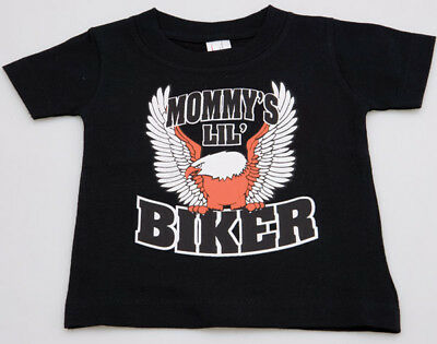 J&P Cycles® Mommy's Lil Biker T-shirt Child Baby Babies 6 Month Motorcycle  M9, used for sale  Shipping to India