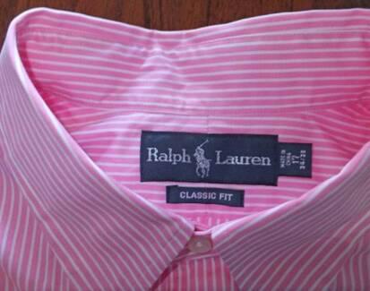 Ralph Lauren, Men's Business Shirt US 17  34/35 Parramatta Parramatta Area Preview