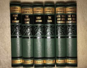 Lot Of 6 LOUIS BROMFIELD Books From 1930s - MINT CONDITION