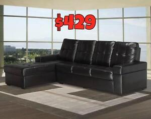 JUST A FEW LEFT CONDO TYPE SECTIONAL JUST $429 LOWEST PRICES GUARANTEED