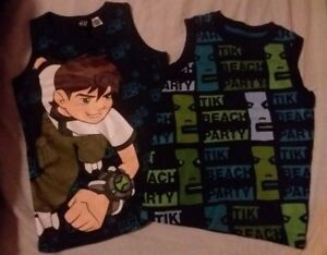 2 x H&M Boys Sleeveless Tanks 2-4Y *** BOTH FOR $3 ***